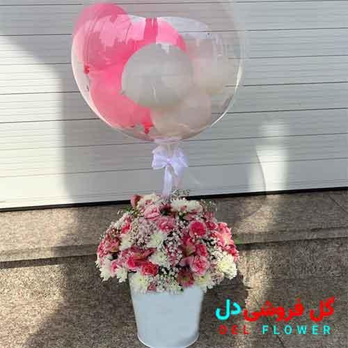 گل برای تشکر از همسر