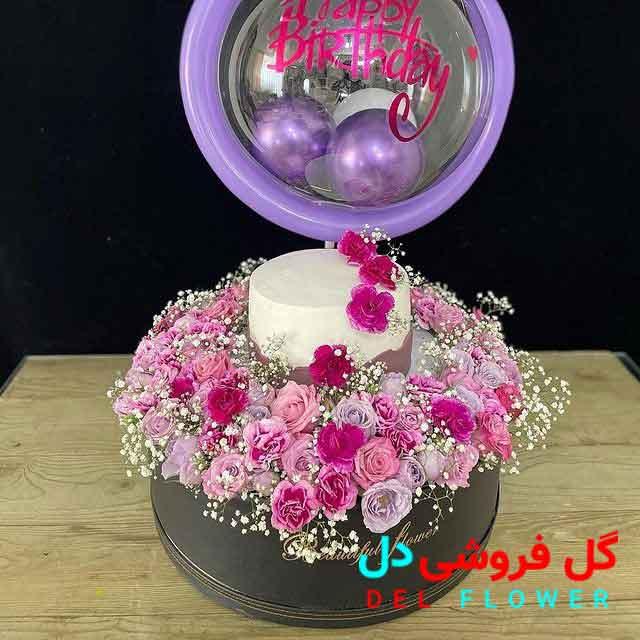 سفارش آنلاین گل و کیک تولد