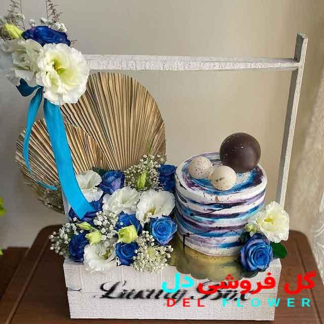 خرید گل و کیک تولد