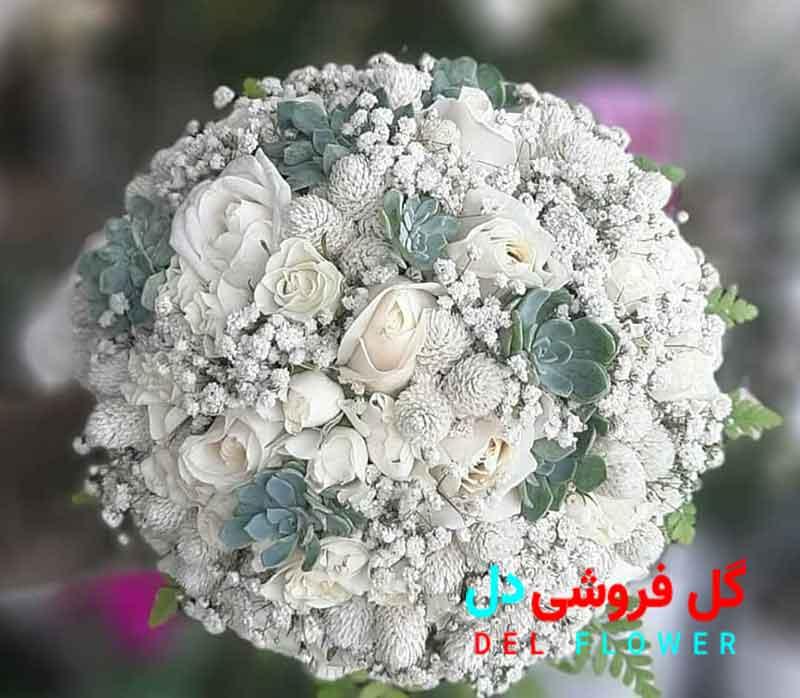 دسته گل عروس ترند 2021