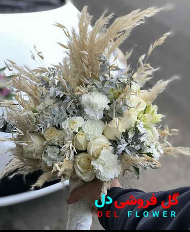 دسته گل عروس وحشی