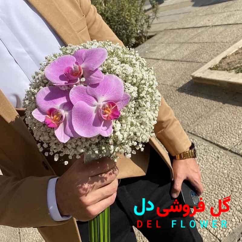 دسته گل عروس واسه عقد