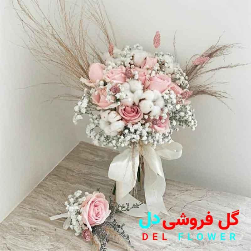 دسته گل عروس خاص و شیک